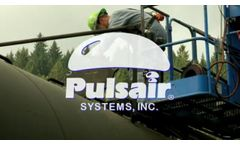 Rail Tank Car Heating & Mixing with Pulsair Systems - Video