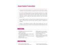 SMR Series RS485 - Smart Digital Transmitter Brochure