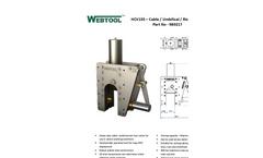 Webtool - HCV 155 - Cable Cutters - Brochure