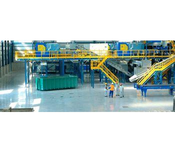 Anaergia - Turnkey Mechanical Biological Treatment Plant (MBT)