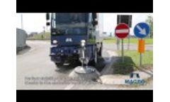 Road sweeper Industrial sweeper Macro M60