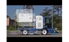 Road sweeper industrial sweeper M60 - technical details