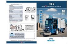 Model M 60 ST - Street Sweepers Brochure