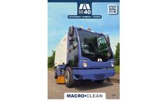 Model M40 CB - Sweeper Machines Brochure