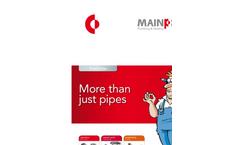 MAINPEX - - Sliding Sleeve System Brochure