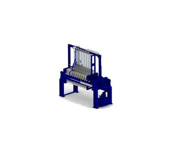 Aqualitec - Model Type CRS - Fully Automatic Plate Filter Press