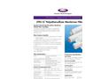 Z Tec - Poyethersulphone Membrane Cartridge Filters Datasheet