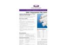 QMA - Polypropylene Filter Series Datasheet