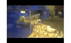 Shredding Paper Slab Waste Video