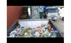 Multi-Crushers (FR) for Municipal Solid Waste - Forrec Recycling  Video