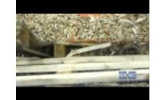 Single Shaft Shredder (EK) for the Recycling of Pallets / Wood - Forrec Recycling - Video