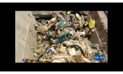 Multi-Crushers (FR) for Plastic bags Bales Recycling - Video