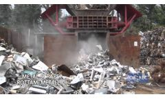 Rotary Shearing Machine (FX) for Aluminum Recycling - Forrec - Video