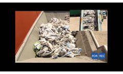 Multi-Crushers (FR) for Big-Bags Bale Recycling - Forrec Recycling - Video