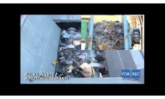 Multi-Crushers (FR) for Bulky Waste v02 - Forrec Recycling - Video