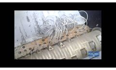Single Shaft Shredder (XK Hydraulic) for the Recycling of Aluminum Wires - Forrec Recycling - Video