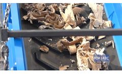 Double Shaft Shredder (TB) for the Recycling of Cardboard - Forrec Recycling - Video