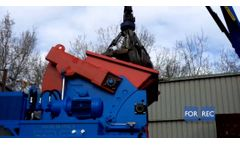 Single Shaft Shredder (XK) for the Recycling of Pallets / Wood- Forrec Recycling - Video