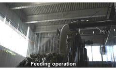 Single Shaft Shredder for (XK Evolution) MSW Municipal Solid Waste- Forrec Recycling - Video