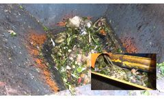 New Bags Opener for Organic Waste Treatment - Video