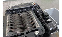 Forrec - Model TBS 800 - Electric or Hydraulic Primary Double Shaft Shredder