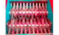 Forrec - Model TB 1000 - Electric Primary Double Shaft Shredder