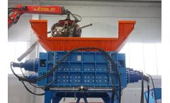Forrec - Model TQ 1800 - Electric or Hydraulic Four-Shaft Shredders