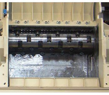 Forrec - Model EK 1300 - Single Shaft Shredders Potentiated