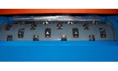 Forrec - Model EK 1900 - Single Shaft Shredders Potentiated