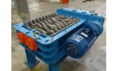 Forrec - Model TBS 1000 - Electric Or Hydraulic Primary Double Shaft Shredder