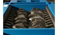 Forrec - Model TB 1300 - Electric or Hydraulic Primary Double Shaft Shredder