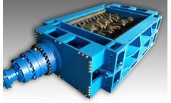 Forrec - Model TB 1500 - Electric or Hydraulic Primary Double Shaft Shredder