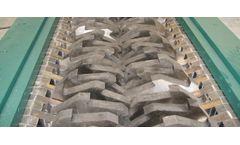 Forrec - Model TB 1800 - Electric or Hydraulic Primary Double Shaft Shredder