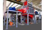 Forrec - Model TX1600 - Double Shaft Shredder Machine