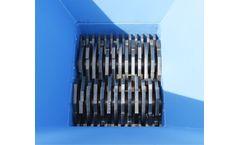 Forrec - Model TB 500 - Electric Primary Double Shaft Shredder