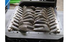 Forrec - Model TBS 600 - Primary Double Shaft Shredder