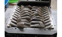 Forrec - Model TBS 600 - Electric Primary Double Shaft Shredder