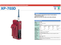 XP-703D Gas Leak Detector for Semiconductor Manufacturing Gases - Brochure