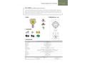 GTD-2000Tx Smart Diffusion Oxygen & Toxic Gas Detector - Datasheet