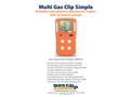 Multi Gas Clip Simple - Datasheet