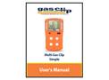 Multi Gas Clip Simple - User Manual
