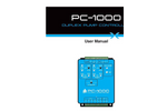 Model PC-1000 - Panel Mount Pump Controllers Brochure