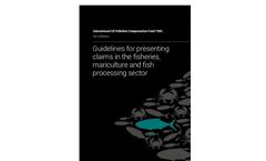 Fisheries Guidelines Book Brochure