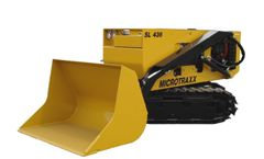 MICROTRAXX - Model SL 436 - Radio Remote Controlled Track Loader