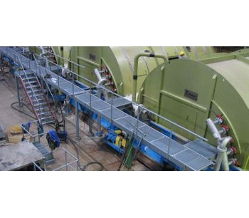 Custom fabricated process vessel for the pulp & paper industry - Pulp & Paper