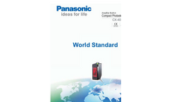 Model CX-400 Series - Universal Photoelectric Sensors - Brochure