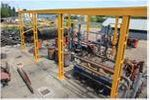 PIROTEX pyrolysis plant for recycling and utilization of carbon- and polymer-containing wastes.