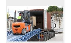 Rota Mining - Container - Products on Pallet