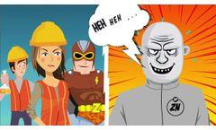 MetalZorb Man vs. Dr. Zinc - Video