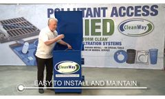 CleanWay Downspout Filters - Video